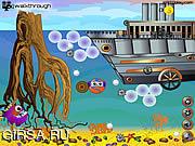 Флеш игра онлайн Опасное плавание / Extreme Pearler