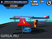 Флеш игра онлайн Экстремальные гонки 3D: обучение / Extreme Racing 3D: Training