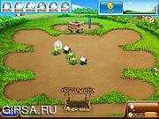 Флеш игра онлайн Веселая Ферма 2