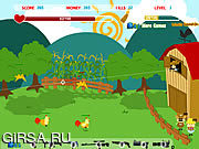 Флеш игра онлайн Farm Wars