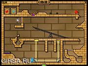 Флеш игра онлайн Fireboy And Watergirl 2 - The Light Temple