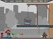 Флеш игра онлайн FireFighter Cannon