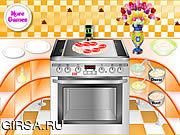 Флеш игра онлайн Fish Pizza Cooking
