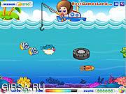 Флеш игра онлайн Профессиональная рыбалка / Fishing Master