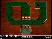 Флеш игра онлайн Съемка Minigolf темпового сальто / Flop Shot Minigolf