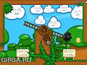 Флеш игра онлайн Приключения облака