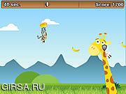 Флеш игра онлайн Летающая Обезьяна / Flying Monkey