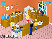 Флеш игра онлайн Ресторан-барбекю / Fried Chicken Restaurant
