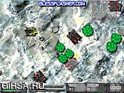 Флеш игра онлайн Война лягушек / Frog Battle