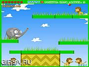 Флеш игра онлайн Фруктовый слоник / Fruit Bouncer