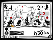 Флеш игра онлайн Фанки Самурай Kengou-Тян