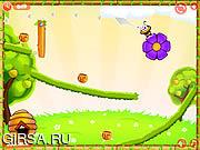 Флеш игра онлайн Смешные пчелки