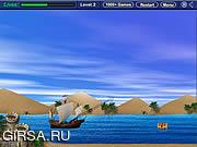 Флеш игра онлайн Сражение Галеона