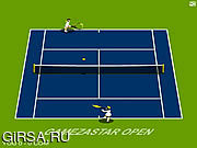 Флеш игра онлайн Открытый теннис