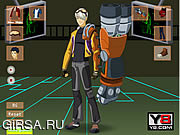 Флеш игра онлайн Одень Рекса / Generator Rex Dress Up