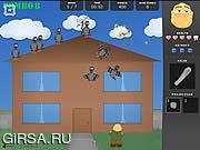 Флеш игра онлайн Убирайся С Моей Крыши / Get Off My Roof