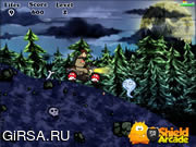 Флеш игра онлайн Охотники за привидениями