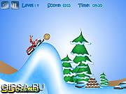 Флеш игра онлайн Ралли ледника / Glacier Rally