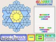 Флеш игра онлайн Цветная мозайка