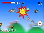 Флеш игра онлайн GoGo крайность овец / GoGo Sheep Extreme