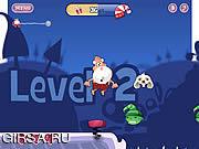 Флеш игра онлайн Иди! Санта-Вперед! / Go! Santa Go!