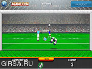 Флеш игра онлайн Goalkeeper Premier