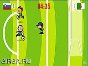 Флеш игра онлайн Goooaaal