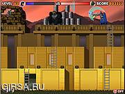 Флеш игра онлайн Горилла Grodd - бочонки опасности