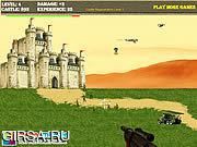 Флеш игра онлайн Зеленый Берет Нападение Castle / Green Beret Castle Assault
