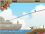 Флеш игра онлайн Стрелок гранаты
