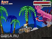 Флеш игра онлайн Остров Динозавров