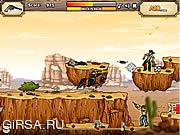 Флеш игра онлайн Gunshot Cowboy