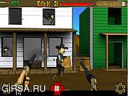 Флеш игра онлайн Gunslinger 3D