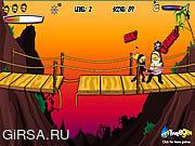 Флеш игра онлайн Миссия самурая / Ha Yha!