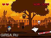 Флеш игра онлайн Halloween Runner