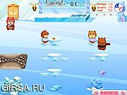 Флеш игра онлайн Hamster Зимнее кафе / Hamster Winter Bistro