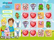 Флеш игра онлайн Happy Hearts