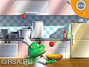 Флеш игра онлайн Счастливая кухня