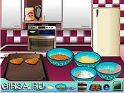 Флеш игра онлайн Healthy Chicken Nuggets