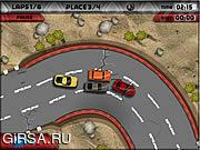 Флеш игра онлайн Highway Racer
