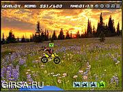 Флеш игра онлайн Трюки на мотоцикле / Hillblazer FMX
