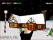 Флеш игра онлайн Hitman Кристмас / Hitman Christmas