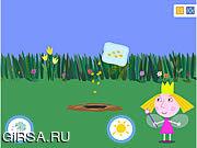 Флеш игра онлайн Волшебный сад Холли