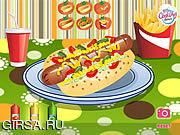 Флеш игра онлайн Hot Diggity Dog