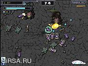 Флеш игра онлайн Спасение Земли 2 / Hum VS Zerg 2
