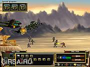 Флеш игра онлайн Битва за Землю 3 / Humaliens Battle 3