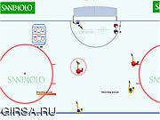 Флеш игра онлайн Веселый хоккей