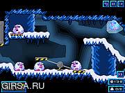 Флеш игра онлайн Ледистое подземелье / Icy Cave