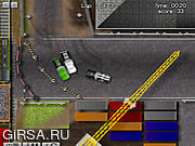 Флеш игра онлайн Промышленные Гонки Грузовиков / Industrial Truck Racing