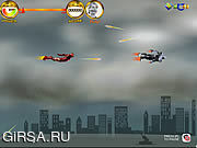 Флеш игра онлайн Воздушный бой врубовой машины / Ironman Air Combat